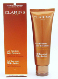 Clarins Self Tanning Milky-Lotion w/ Fig Extract 4.2 oz | Wholesale $17.99