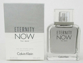 Eternity Now for Men Calvin Klein 3.4oz./100 ml.EDT Spray.New&Sealed