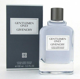 Givenchy Gentlemen Only After Shave Lotion Splash 3.3 oz. Brand New
