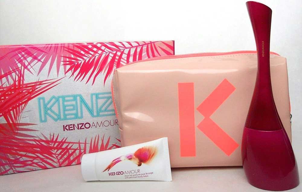 0b38e08b8 Kenzo Amour by Kenzo 3.4 oz Eau de Parfum 3PC.Set for Women.NIB ...