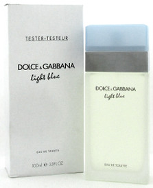 Light Blue by Dolce & Gabbana Perfume 3.3 oz. EDT Spray for Women. NEW Tester