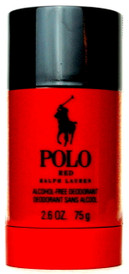 Polo Red by Ralph Lauren Alcohol Free Deodorant Stick 2.6 oz.for Men