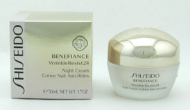 Shiseido Benefiance Wrinkle Resist 24 Night Cream 1.7 oz/50 ml New In Box