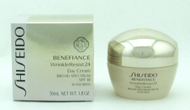 Shiseido Benefiance WrinkleResist24 Day Cream SPF 18 50 ml./1.8 oz New In Box