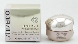 Shiseido Benefiance WrinkleResist24 Intensive Eye Contour Cream 0.51 oz./ 15 ml.  New In Box
