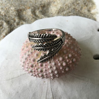 Feather Ring, adjustable