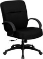 Big & Tall 400 lb. Capacity Big & Tall Black Fabric Office Chair with Arms and Extra WIDE Seat , #FF-0302-14