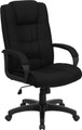 High Back Black Fabric Executive Office Chair , #FF-0280-14