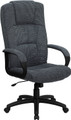 High Back Gray Fabric Executive Office Chair , #FF-0285-14