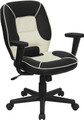 Mid-Back Vinyl Steno Executive Office Chair , #FF-0360-14