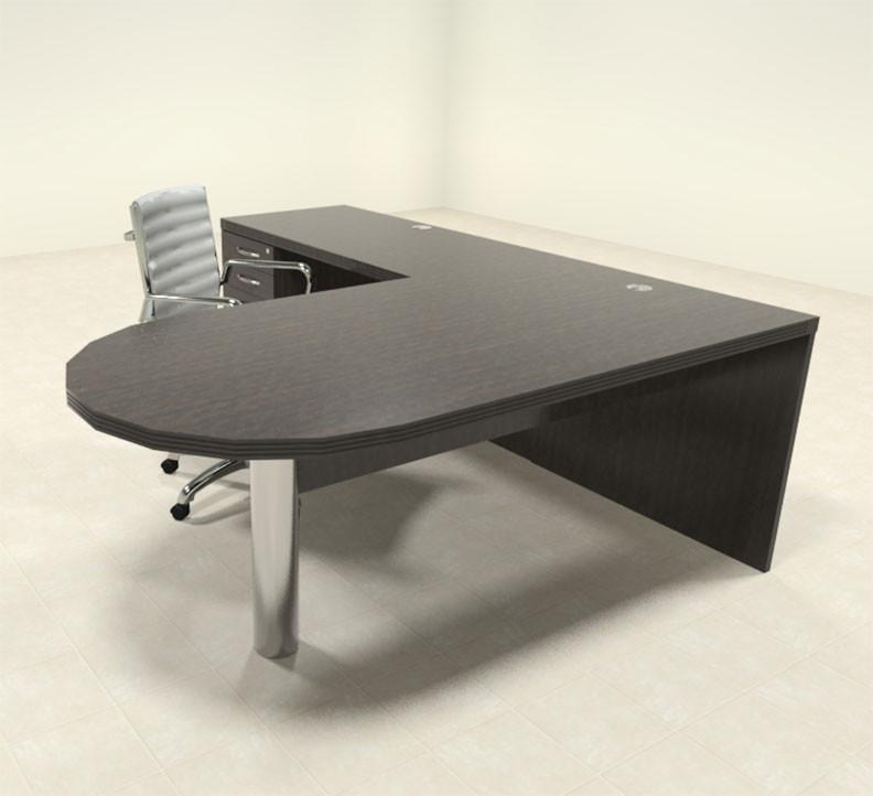 Stupendous 3Pc Modern Contemporary L Shaped Executive Office Desk Set Ro Abd L9 Interior Design Ideas Inesswwsoteloinfo