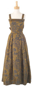 BREATHTAKING 1950's Christian Dior Evening Gown & Matching Wrap