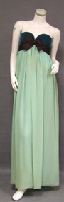 EXQUISITE Sarmi Boutique Two Toned Strapless Goddess Gown 1