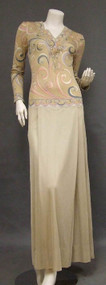 Oustanding Silk Jersey Emilio Pucci Evening Gown