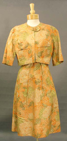 Classic Helen Rose 1960's Cocktail Dress w/ Matching Jacket