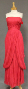 Superb Sophie Gimbel 1960's Evening Gown