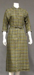 FANTASTIC N/OS 1950's Plaid Day Dress