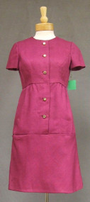 Fantastic Mulberry 1960's Sarmi Day Dress