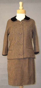 GORGEOUS Don Loper Houndstooth Suit