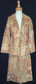 Wonderfully Wild Chester Weinberg Ultrasuede Suit