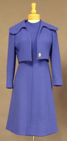 1960's Pauline Trigere Wool Dress & Jacket