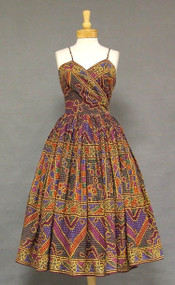 AMAZING Emma Domb 1950's Sun Dress