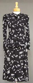 Terrific Yves Saint Laurent Rive Gauche Musical Suit