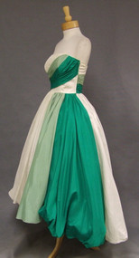 Will Steinman Strapless 1950's Dress with HiLo Balloon Hem