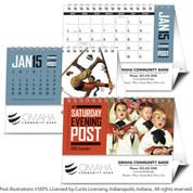 Triumph Calendars - The Saturday Evening Post Desk Calendar - 4252
