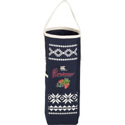 Fair Isle Wine Tote with Opener - 0032-06