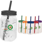 Game Day Mason Jar 25oz - 1624-12