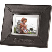 "3.5"" Leather Digital Photo Frame - 1691-35"