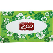 12lb./doz. Hibiscus Pattern Beach Towel - 2090-28