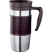 Cutter & Buck® American Classic Leather Mug 14oz - 9850-33
