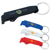 Plastic Bottle Opener Keychain - 21084