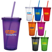 Double Wall Acrylic Tumbler 18 oz. - 45856