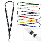 1/2-Inch Breakaway Lanyard with Key Ring - 65152