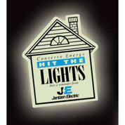 Glow in the Dark House Magnet - GL03