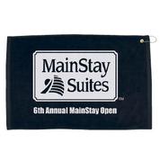 """16"""" x 25"""" Hemmed Color Golf Towel - 1625HC"""