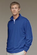 Add Your Logo to Vansport Mesh 1/4-Zip Tech Pullover - 3405