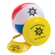 Beach Ball Flyer Visor Fun Kit - BFVK