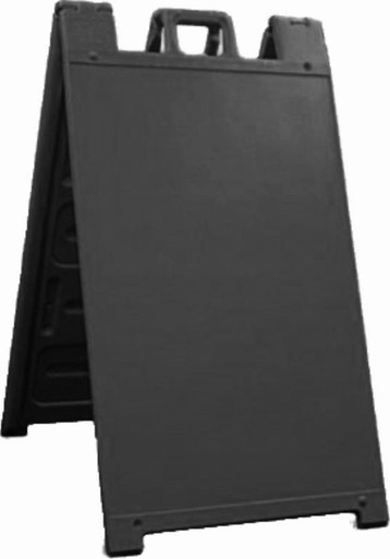 The classic black A-Frame sign from Signicade
