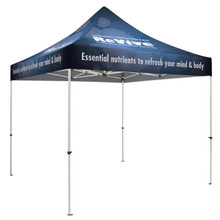 10' x 10'  Creations Series Standard Pop-Up Tent, Full Bleed Imprint