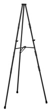 Heavy Duty Steel Facilities Floor Easel, Black. Made in the USA
