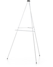 Economy Aluminum Easel, Silver. Made in the USA