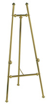 Elegant Brass Easel, Brass. Made in the USA