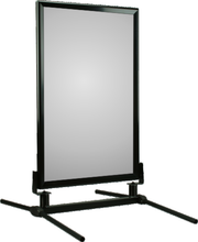 Black Frame WindMaster Sidewalk Sign
