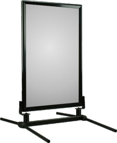 Black Frame WindMaster Sidewalk Sign