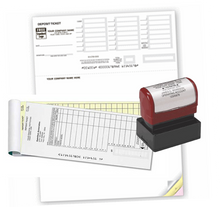 Deposit Slips and Stamps