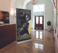 Retractable Banner Stands with Printed Banners